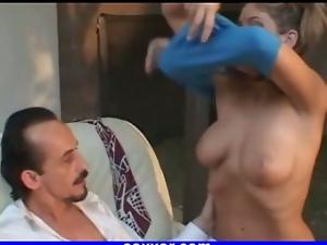 girl fucking old man outdoor porn blonde girl 1