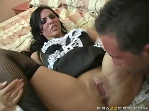 This Maid Moans So Good!