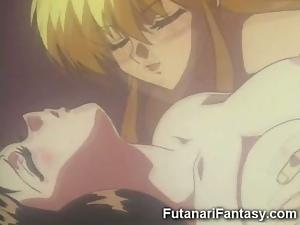 Toon Futanari Fucks Teen!