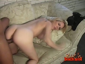 Pregnant Ruth Blackwell gets hammered