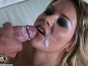 Megan Monroe gets her wife pussy pounded