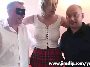 Filming 2 guys fucking my wife