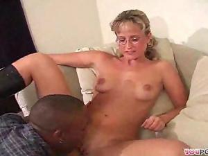 White body devoured by black stud