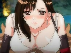 Tifa Lockheart  Anime Blowjob