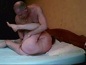 Mature XXX Face Sitting Fun with Amateur Couple