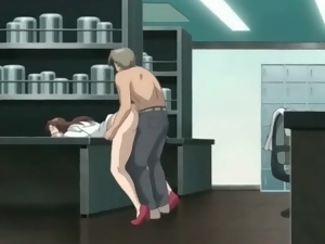 Female hentai doctor with gorgeous body fucked