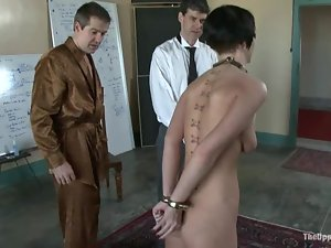 Bonded Cherry Torn get whipped and humiliated