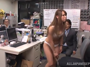 New office manager gets fucked on her first day in the office