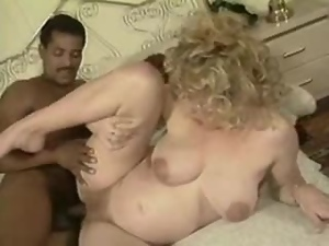 Pregnant blonde milf sucks a BBC and gets her cunt drilled hard