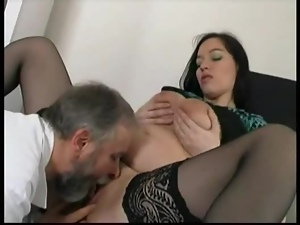 Hot slut gets her vag licked and fucked remarcably well