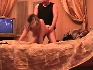 Russian amateur wife gets fucked