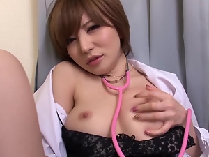 This filthy mature Asian whore is at the semen bank