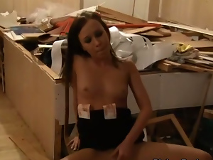 young student fuck hard in the basement for 150 bucks
