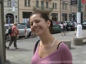 CZECH STREETS - Amazing SEX in Pub Toilets