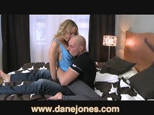 DaneJones Hot and wet inside her yoga pants