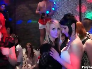 Full on slut fun at a sexy party