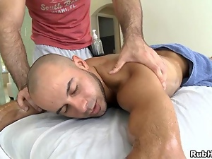 Getting his asshole fucked