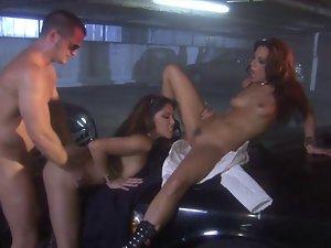 Man drills sex appeal gal