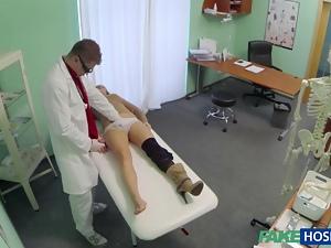 Dirty doctor screws her very hot patient