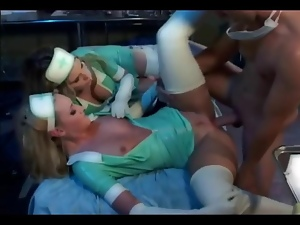 Ffm Threesome With Nurses In Lat...