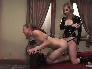 With A Meat Hook Up Her Ass,A F...