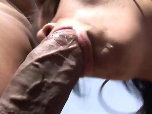 Tranny gets hardcore pounding