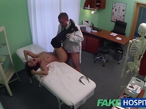 Real patient gets fucked by fake doctor