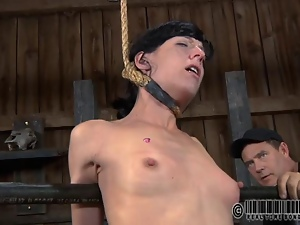 Master is torturing babes cunt