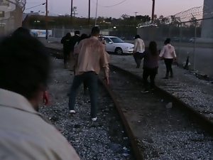 Burning Angel: The walking dead parody trailer