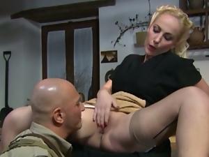 Italian babe monica preziosi got her pussy eaten