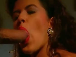 Kiny redhead sucks cock before getting fisted