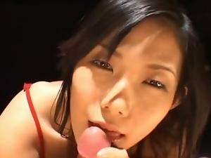 Yui komine eating cum asian slut