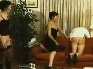 Sexy spanking and whipping