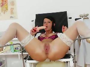 Milf nurse masturbating
