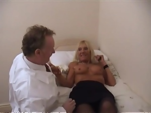 Chubby guy fucks dirty mature in her hot pussy