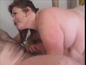 69 with a huge chick over his face