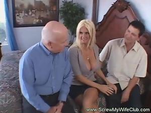 Blondy Wife Creampie Drips
