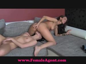 FemaleAgent Suspicious and sexy