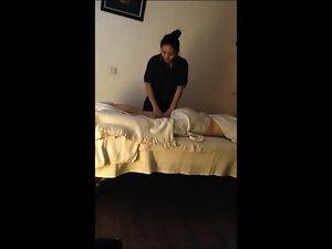 Thai Massage - Hidden Cam