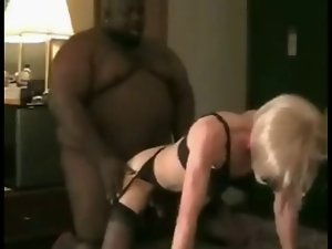 Thick filthy ebony drills crossdresser