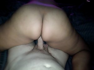 Big Naughty butt Latina Riding