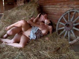 Attractive cowgirl fuck