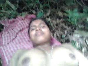 DESI Girlfriend Nude SHOW N Banging IN FIELDS