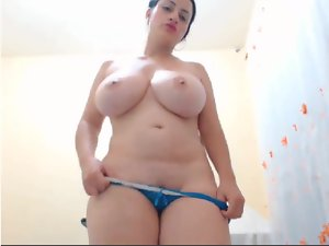 Buxom Obese strips and toys