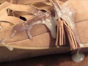 cum on girlfriend shoes