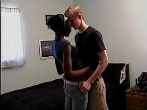 Interracial Couple Fuck Twice
