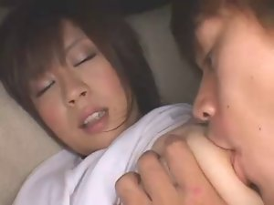 Asian breast stroking 2