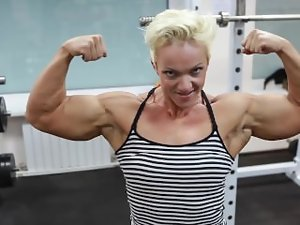 FBB Natalya Romashko Gym Muscle