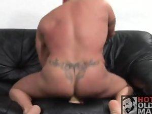 Fake penis + MUSCLEDAD