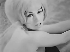 Lady Demonstrates All 86 (Black and White Vintage)